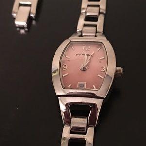 Women's Fossil Pink Face Watch